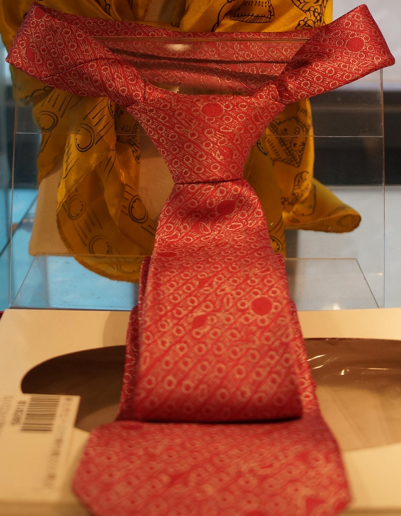 도기 무늬 넥타이